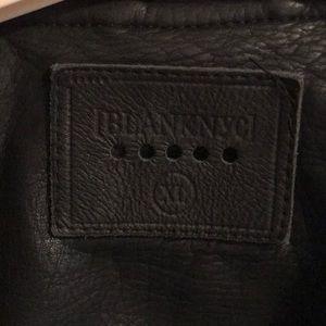 Blank NYC Jackets & Coats - Vegan leather motojacket